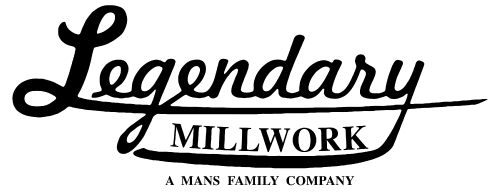 Legendary Millwork, A Mans Family Company Logo